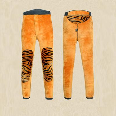 男童棉裤冬儿童加绒加厚打底裤高腰中大童裤子青少年保暖裤子大码