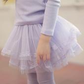 特*2013春款韩国童装秋装 优雅蕾丝边纱裙裤女童打底裤裙裤