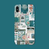 壳iPhone8plus软硅胶欧美风7个性 苹果X手机 创意6s全包磨砂耐摔5套