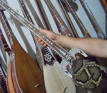 新疆专业母卡木演奏团专用乐器90CM标准热瓦普手工制作