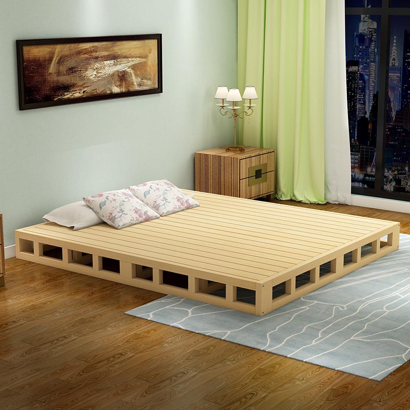平板单人床