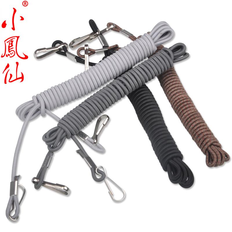 小凤仙渔具 5米松紧失手绳 护竿绳大鱼失手绳 防脱绳 垂钓小配件