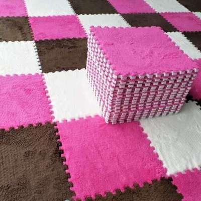 【天天特价】拼接绒面地毯儿童拼图泡沫垫客厅卧室满铺地板榻榻米是什么牌子