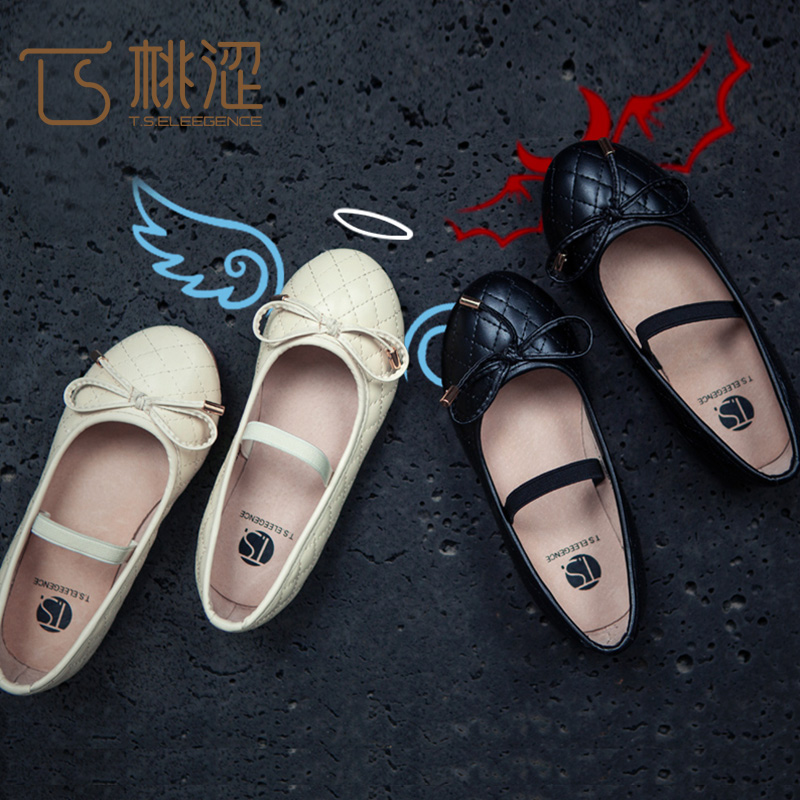 韩版白色公主鞋