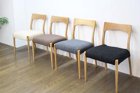 白橡木书椅 纯实木住宅家具 日系新款靠背餐椅 环保特价 厂家直销