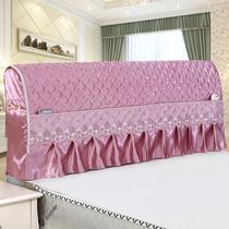床头罩床头套防尘罩皮床夹棉1.5米1.8米简约实木软包布艺床保护套