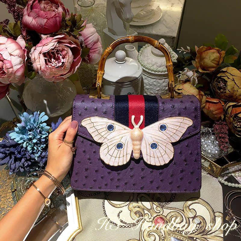 奢华紫色包包