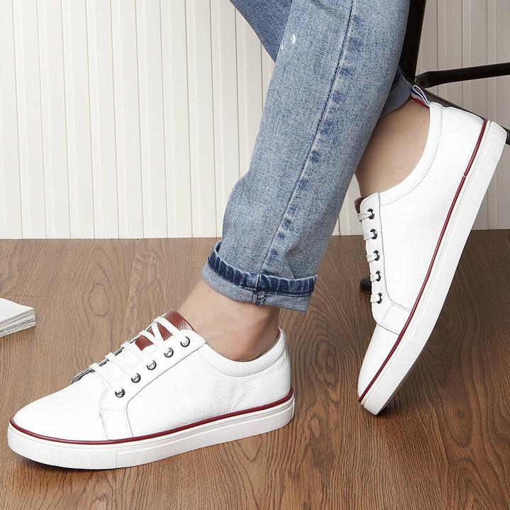 中學生牛皮運動鞋