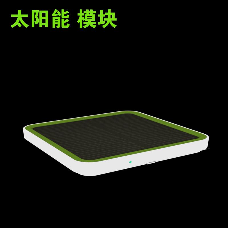STX 太阳能模块叠加组合移动电源充电宝硅晶板0.8W应急太阳能充电图片
