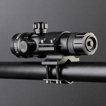 镜夜视器苗准可激光瞄准十字外线准抗震喵器高清器绿械光学机调节