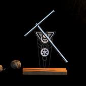 牛顿摆混沌摆钢铁侠永动机摆件高档创意商务礼品家居反重力模型摆