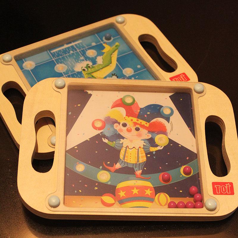 儿童手掌上滚珠走珠玩具2-3-4-5-6岁宝宝专注力怀旧玩具培养耐心