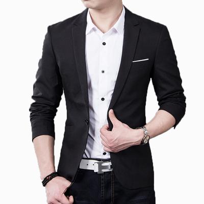 男士休闲西服学生青少年帅气上衣小西装男韩版修身外套潮婚礼正装
