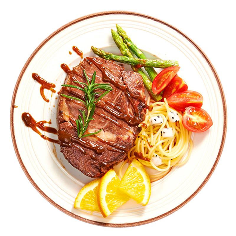 ㊙赤豪澳洲家庭儿童牛排套餐团购10单片新鲜进口牛肉菲力黑椒
