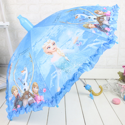 儿童雨伞男女童小学生自动安全儿童伞幼儿园小孩子公主宝宝晴雨伞