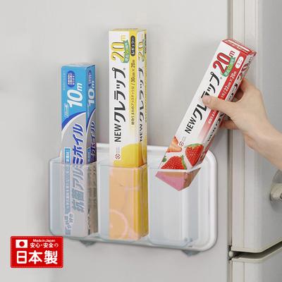 inomata日本进口冰箱保鲜膜收纳盒锡纸收纳架厨房储物盒置物架好不好