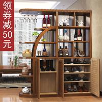 中式鞋柜玄关隔断柜