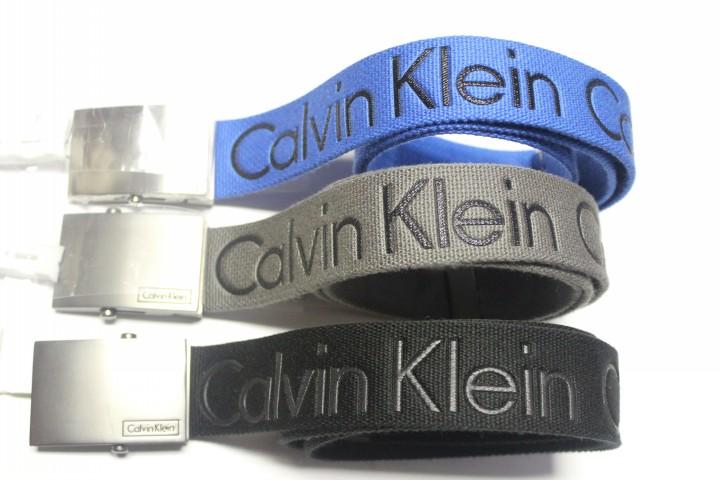 美国代购 CK/Calvin Klein 正品男士休闲时尚帆布皮带