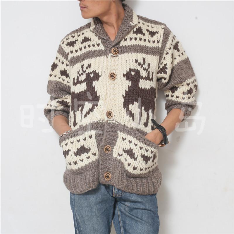 加拿大风格毛衣