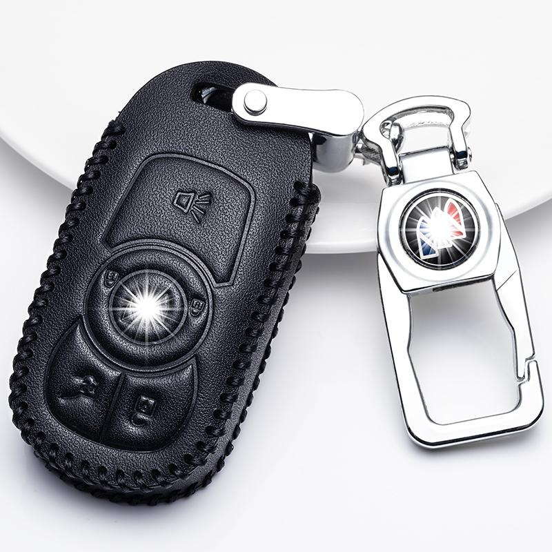 别克真皮钥匙套 2019款别克昂科威威朗君威君越GL6专用汽车钥匙包