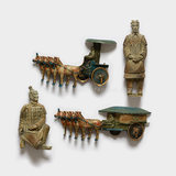 Qin Shi Huang Terracotta Warrior Fridge Magnet Shaanxi Xi'an Tourist Souvenir Strong Magnet Magnet Creative personality