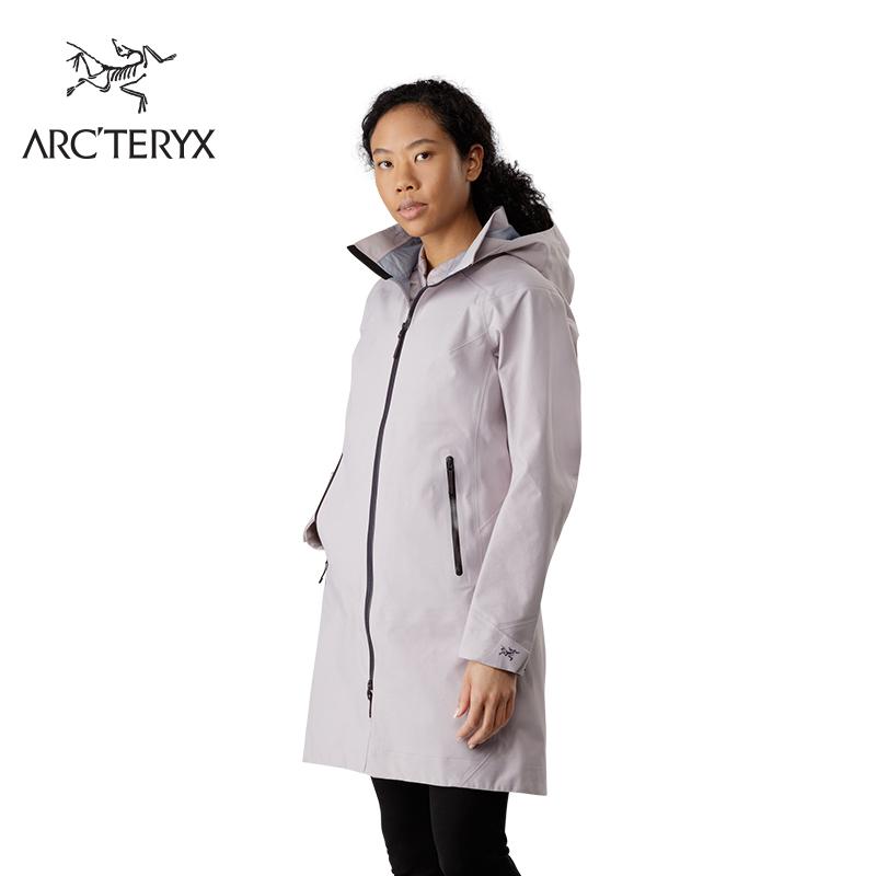 Arcteryx 始祖鸟女款防风防水舒适修身透气硬壳冲锋衣 Mistaya
