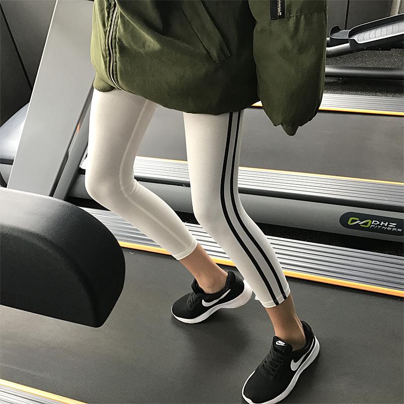 紧身裤灰色