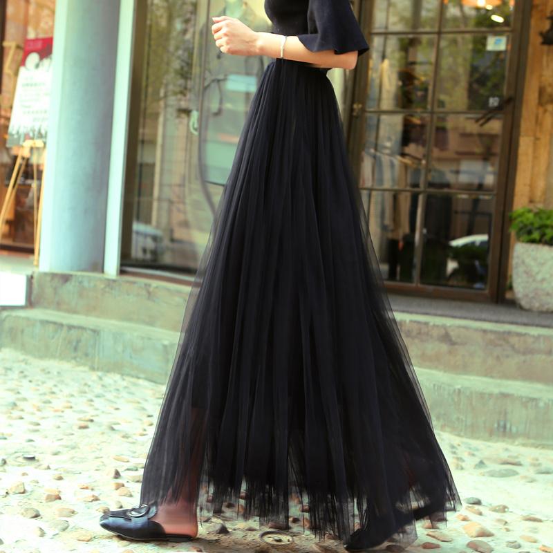 黑色美裙网纱