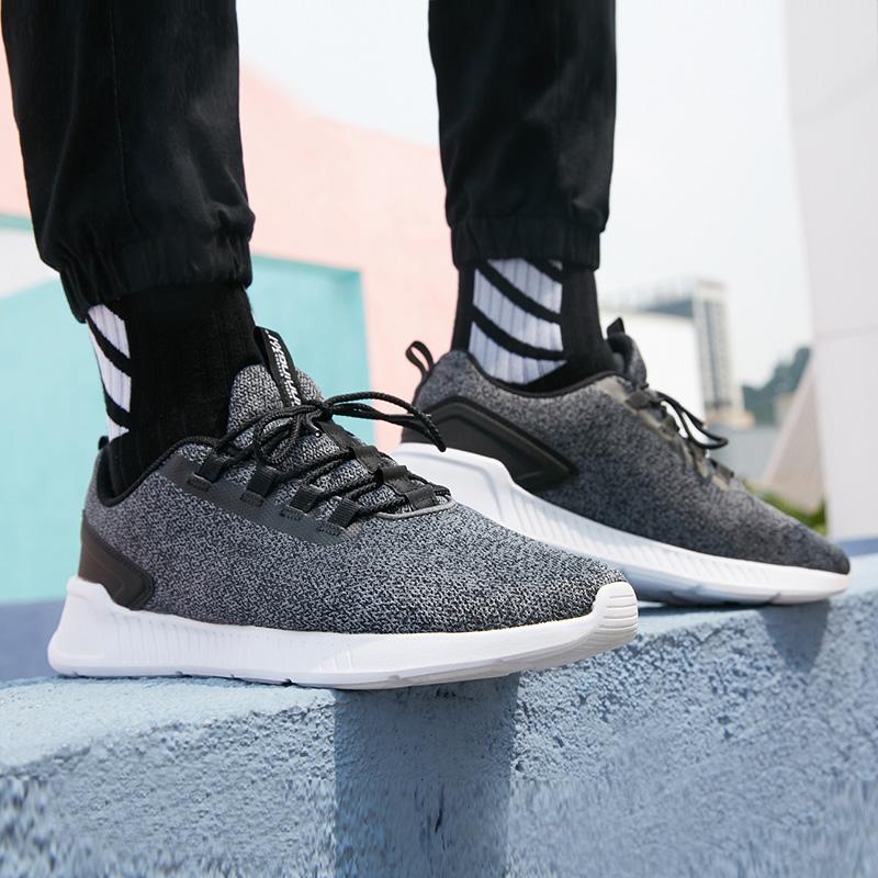 361男鞋秋季气垫运动鞋子361度女士冬季正品网皮面透气休闲跑步鞋