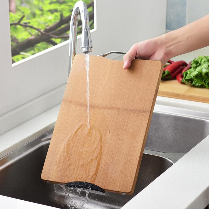 德长整竹防霉菜板家用厨房切菜板水果小菜板砧板刀板非实木案板
