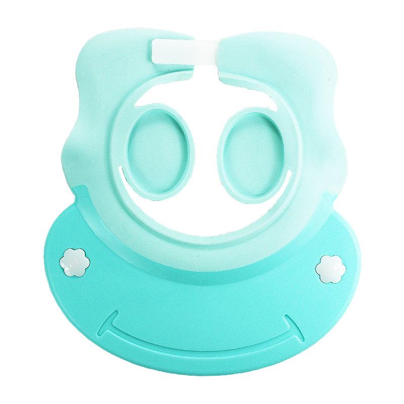 儿童洗澡宝宝洗发帽防水护耳神器幼儿小孩洗头硅胶可调节婴儿浴帽