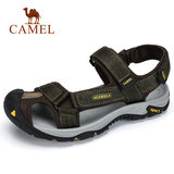 Camel Outdoor Sandals Spring and Summer 2019 Seaside Men's Slippers Leisure and Non-skid Baotou Beach Shoes