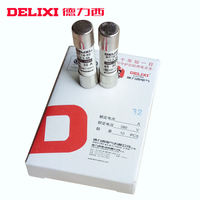 Delixi fuse core TR14 RT18 fuse 10x38mm fuse core 32A a box of 10