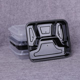Thickening the square fast food box disposable lunch box round square more extra special selling when the box