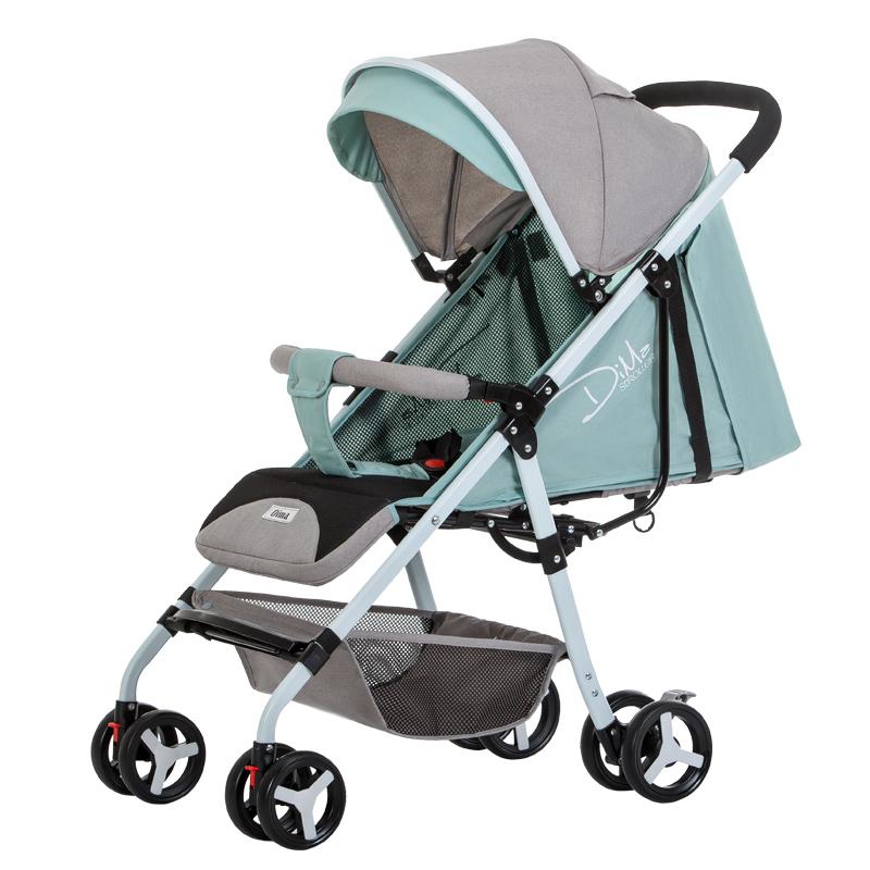 迪马婴儿推车超轻便可坐可躺宝宝伞车折叠简易小孩儿童婴儿手推车