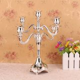 European Candleholder Wedding Decoration 5 Candleholders Home Hotel Candlelight Dinner Candleholder