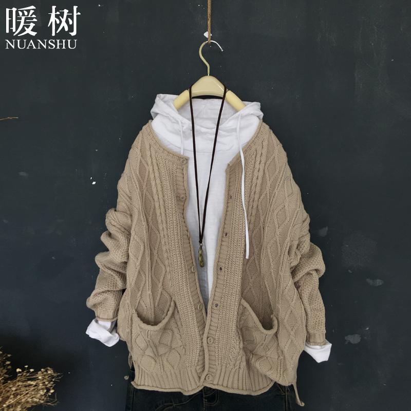 棉线针织衫加厚