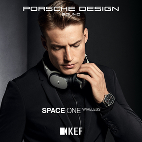 KEF PORSCHE DESIGN SPACE ONE Wireless保时捷商务蓝牙降噪耳机