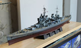 Model of the trumpeter 1/350 the British navy world war ii battleship George v 80605 military warship