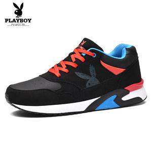 花花公子男鞋秋季运动鞋男士韩版潮流板鞋增高鞋子男休闲鞋跑步鞋