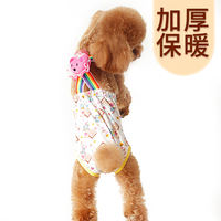 Puppy dog ​​physiological pants female Teddy safety pants health pants aunt towel female dog underwear pet anti-harassment menstrual pants