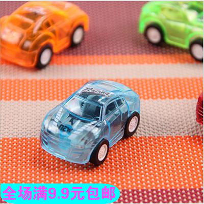 (single pack) children's mini pull back toy children's toy car small