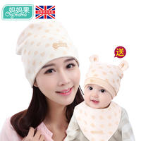 Confinement summer thin section maternity hat spring and autumn postpartum pregnant women headscarf hair band cotton fashion summer breathable