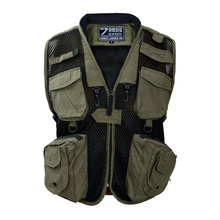 726 Wang Chunqiu outdoor leisure multi-pocket waistcoat for male photographers