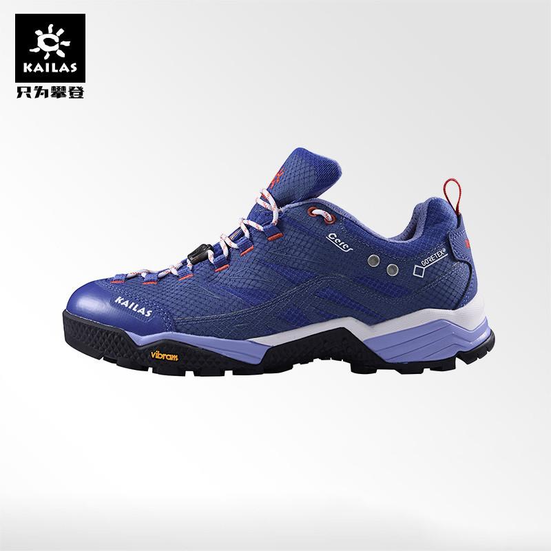 凯乐石户外运动徒步鞋男女款低帮GTX防水防滑vibram底登山攀爬鞋