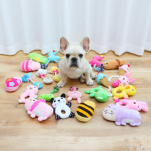 Dog Toys Bite and Voice Resistant Molar Training Teddy Bear Fighting Pet Toys Small and Medium-sized Dog and Puppy Toys