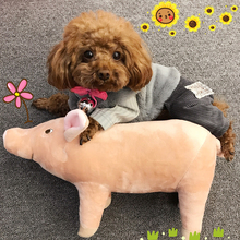 Fadou sleeping companion, four-legged pig, firewood dog, Corky Teddy, is cuter than bear pet dog plush toy.