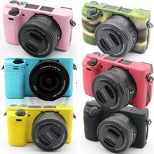 A5100微单包 A6000保护套A5000 索尼微单A6300 相机包A6500硅胶套