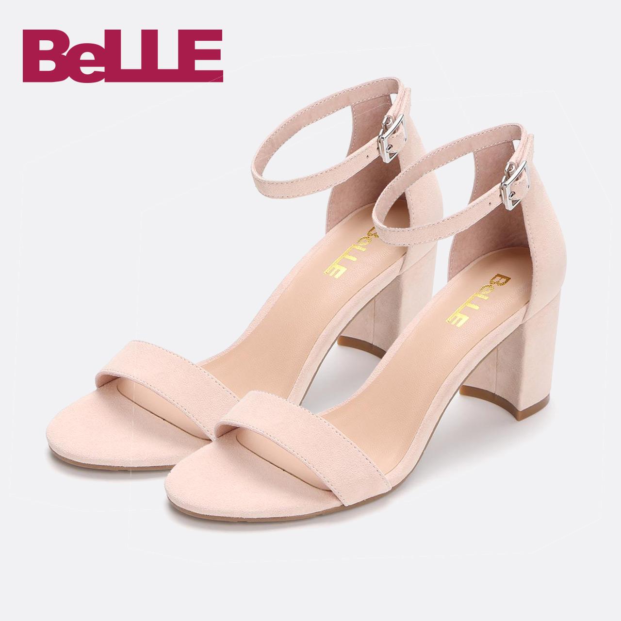 百丽夏季女鞋