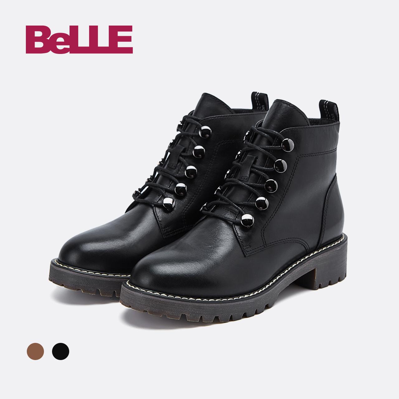 百丽马丁靴女靴